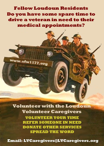 Volunteer To Drive A Vet To A Medical Appt.