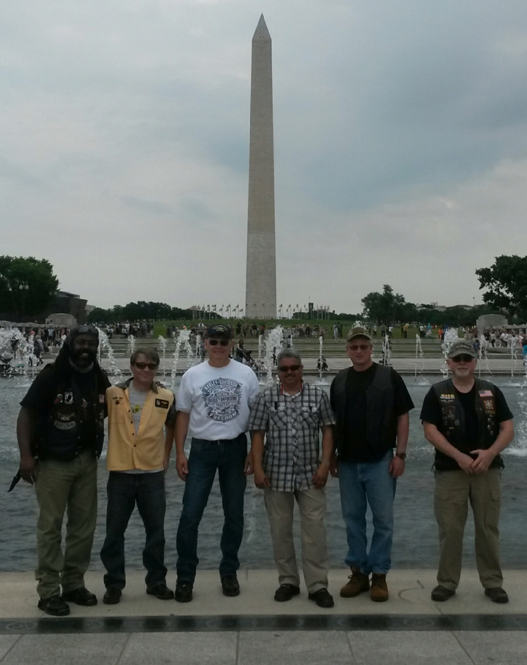 Post 1177 VFW Riders in D.C.