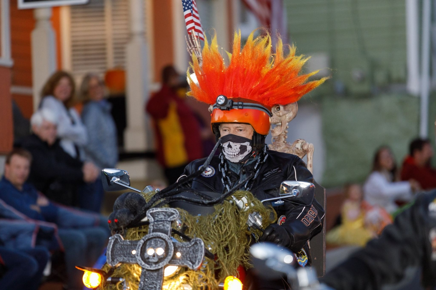 Dan Olsen Ghost Rides in the Parade.  Photo Courtesy of Mark Mogle Photography - www.markmoglephoto.com