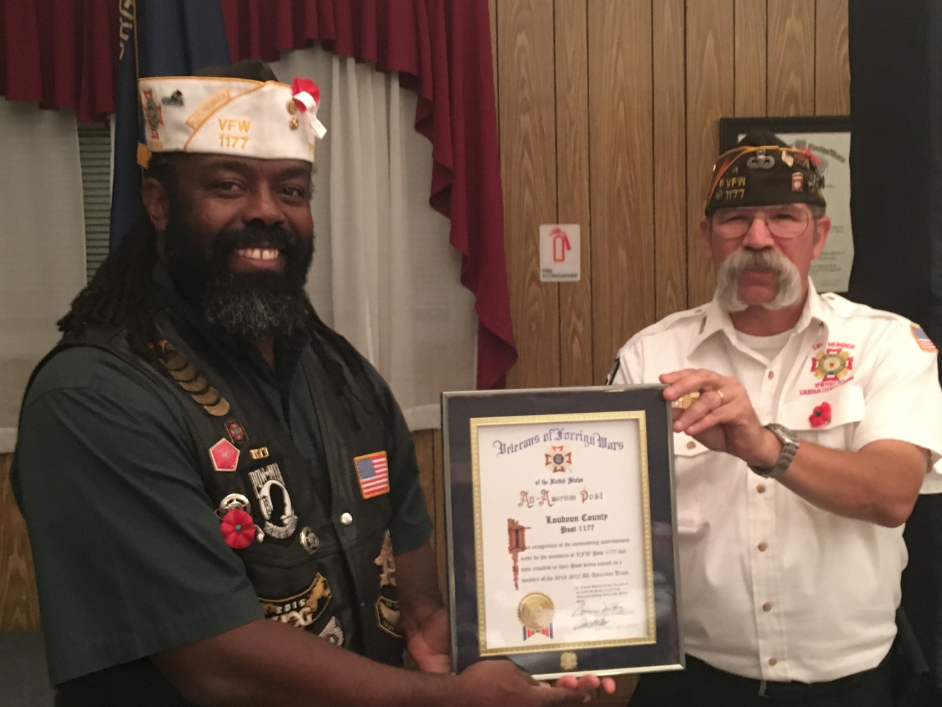 Post 1177 Awarded All American Status