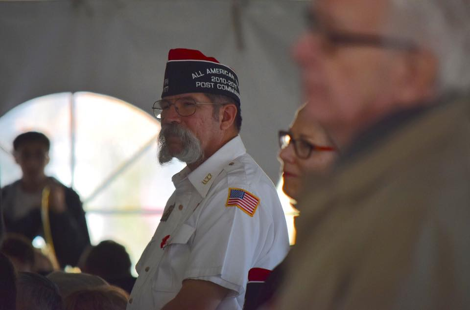 During the Veterans Day Commemoration